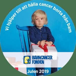 Julgåva barncancerfonden