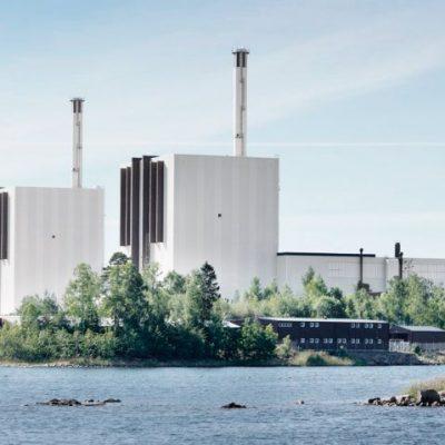 Översiktsbild över Forsmarks kraftverk
